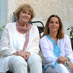 Anna och Fanny Bergenström
